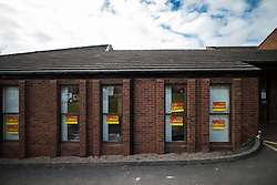 © Licensed to London News Pictures . 03/02/2017. Stoke-on-Trent, UK . Labour party campaign headquarters in the GMB building on the edge of Hanley town centre in the constituency of Stoke-on-Trent Central . The by-election in the constituency is due to take place on 23rd February . Photo credit: Joel Goodman/LNP