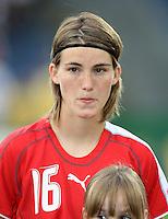FUSSBALL  INTERNATIONAL  FRAUEN NATIONALMANNSCHAFT SAISON 07/08 Nicole SCHAEPPER (Schweiz)