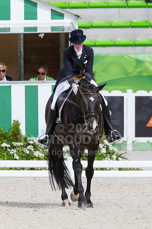 Nathalie Zu Sayn Wittgenstein, (DEN), Digby - Grand Prix Team Competition Dressage - Alltech FEI World Equestrian Games&trade; 2014 - Normandy, France.<br /> &copy; Hippo Foto Team - Leanjo de Koster<br /> 25/06/14