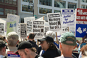 Anti war demonstration New York City April 29 2006