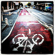 A bike path in Rome, Italy. (Sam Lucero photo)