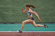 Yelena Sokolova (Authorised Neutral Athlete) Women's Long Jump during the IAAF Diamond League event at the King Baudouin Stadium, Brussels, Belgium on 6 September 2019.