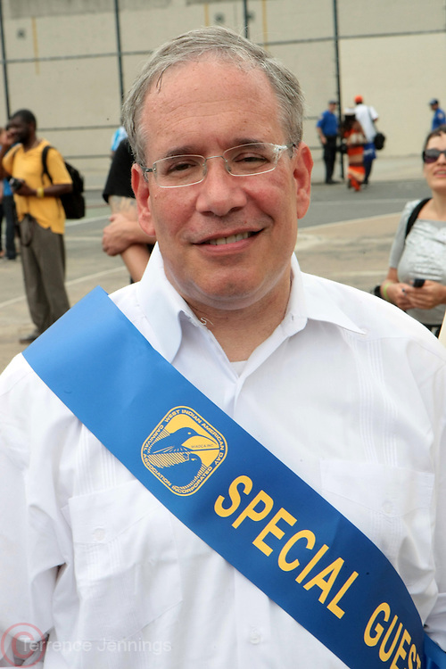 2 September 2013- Brooklyn, NY: Manhattan Borough President and New York City Comptroller Candidate Scott Stringer attends the 46th Annual West Indian Day Parade held along Eastern Parkway held on September 2, 2013 in Brooklyn, NY  ©Terrence Jennings