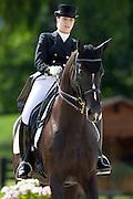 Alexandra Barbancon Mestre - Mr Q<br /> FEI European Championships Dressage Juniors and Young Riders 2012<br /> © DigiShots