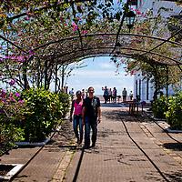 CASCO VIEJO / OLD TOWN - Panama City<br /> Panama 2011<br /> Photography by Aaron Sosa<br /> <br /> El Casco Antiguo o Casco Viejo es el nombre que recibe el sitio adonde fue traslada y vuelta a fundar en 1673 la ciudad de Panamá. Esta nueva ciudad, trazada de forma reticular hacia los cuatro puntos cardinales, se caracterizó por la axialidad de sus calles y póstigos, lo cual le valió ser considerada un modelo clásico de ciudad indiana. Está situada en una pequeña península, rodeada de un manto de arrecifes rocosos, dentro del actual corregimiento de San Felipe. En 1997, el Casco Antiguo de Panamá es incluido en la lista de sitios de Patrimonio de la Humanidad de la UNESCO.<br /> <br /> Casco Viejo (Spanish for Old Town), also known as Casco Antiguo or San Felipe, is the historic district of Panama City. Completed and settled in 1673, it was built following the near-total destruction of the original Panamá city, Panamá Viejo in 1671, when the latter was attacked by pirates. It was designated a World Heritage Site in 1997.