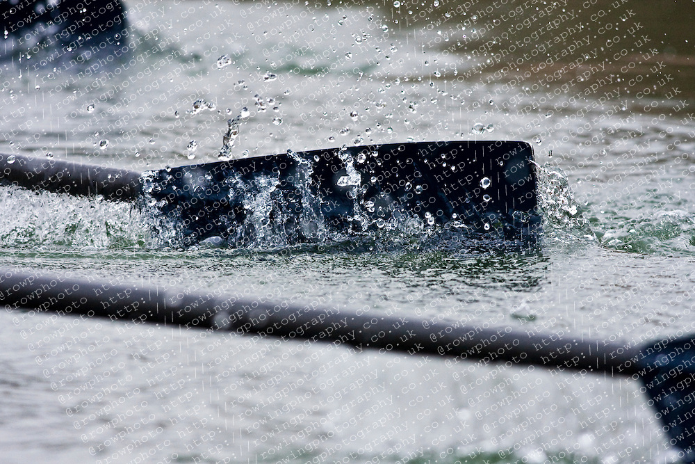 An Oxford oar during extraction.