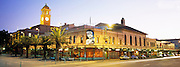 Civic Theatre at dusk, Newcastle, NSW, Australia