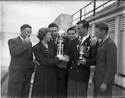 06/09/1952.09/06/1952.06 September 1952.Mount Merrion Dog Show held in Church Grounds.
