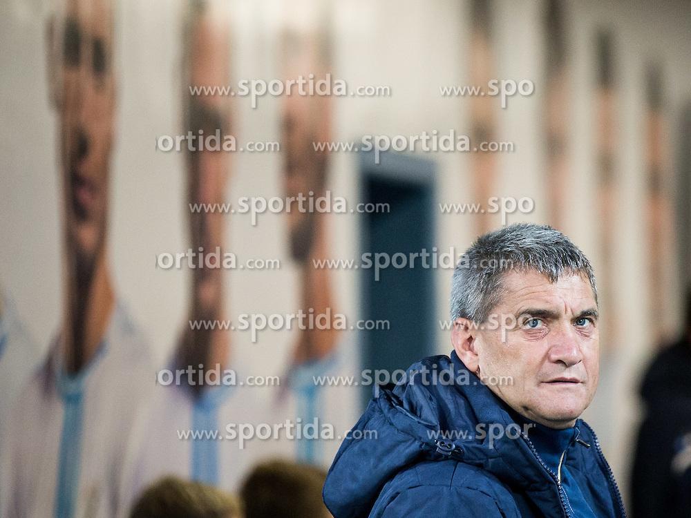 Marijan Pusnik, head coach of HNK Hajduk prior to the football match between HNK Rijeka and HNK Hajduk Split in Round #15 of 1st HNL League 2016/17, on November 5, 2016 in Rujevica stadium, Rijeka, Croatia. Photo by Vid Ponikvar / Sportida
