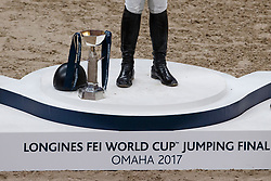 Podium, Ward McLain, USA, Duguet Romain, SUI, Von Eckermann Henrik, SUI<br /> Longines FEI World Cup Jumping Final III, Omaha 2017 <br /> © Hippo Foto - Dirk Caremans<br /> 02/04/2017