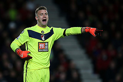 Artur Boruc of Bournemouth shouts to his defence - Mandatory by-line: Jason Brown/JMP - Mobile 07966 386802 12/12/2015 - SPORT - FOOTBALL - Bournemouth, Vitality Stadium - AFC Bournemouth v Manchester United - Barclays Premier League