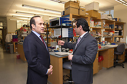 Turkish Ambassador to the United States, His Excellency Namik Tan visit to Yale University. Tour of the Neuroscience Lab with Dr. Murat Gunel at the Yale Medical School | 6 December 2012