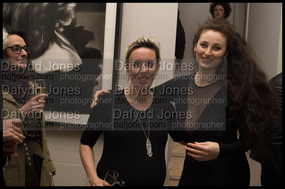 NINA FOWLER; ELEESA DADIANI;  , Nina Fowler works curated by James Birch, The launch of Dadiani Fine Art, 30 Cork St. London.  24 November 2014
