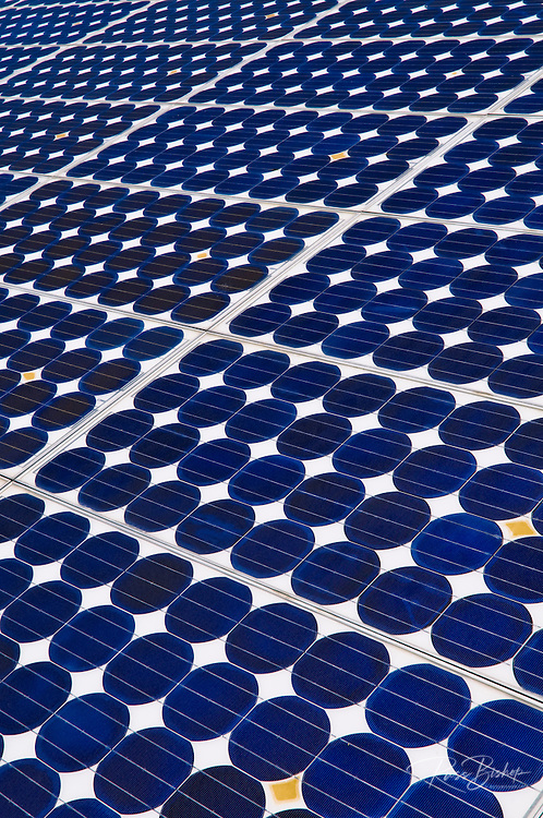Solar panels, Death Valley National Park. California USA