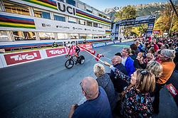 BRANDLE Matthias of Austria during the Men Elite Individual Time Trial a 52.5km race from Rattenberg to Innsbruck 582m at the 91st UCI Road World Championships 2018 / ITT / RWC / on September 26, 2018 in Innsbruck , Austria.Photo by Vid Ponikvar / Sportida
