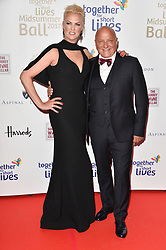 © Licensed to London News Pictures. 07/06/2017. London, UK. NIKKI ZILLI and ALDO ZILLI attends the Together for Short Lives Midsummer Ball. Photo credit: Ray Tang/LNP