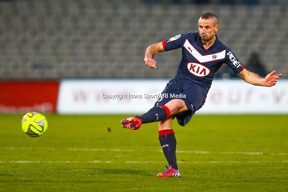 Nicolas Pallois  - 01.02.2015 - Bordeaux / Guingamp - 23eme journee de Ligue 1 -<br /> Photo : Manuel Blondeau / Icon Sport