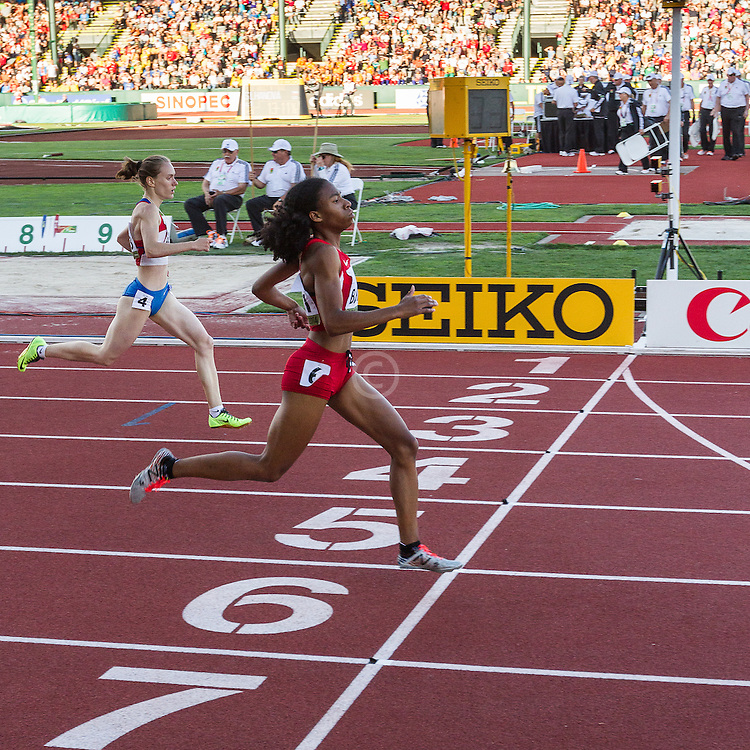 womens 400 meters semi, Olivia Baker, USA