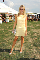 LARA LEWINGTON  at the Cartier International Polo at Guards Polo Club, Windsor Great Park on 27th July 2008.<br /> <br /> NON EXCLUSIVE - WORLD RIGHTS