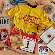 Portrait of pro cyclist Roger Bird. Madison, WI