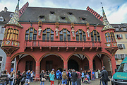 The Historical Merchants Hall at Freiburg im Breisgau, Baden-Wurttemberg, Germany