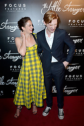 August 16, 2018 - New York, NY, USA - August 16, 2018  New York City..Ruth Wilson and Domhnall Gleeson at the 'The Little Stranger' film premiere on August 16, 2018 in New York City. (Credit Image: © Kristin Callahan/Ace Pictures via ZUMA Press)