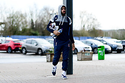 Lewis Champion of Bristol Flyers arrives at SGS College Arena prior to kick off - Photo mandatory by-line: Ryan Hiscott/JMP - 16/02/2020 - BASKETBALL - SGS College Arena - Bristol, England - Bristol Flyers v Solent Kestrels - British Basketball League Trophy semi-final