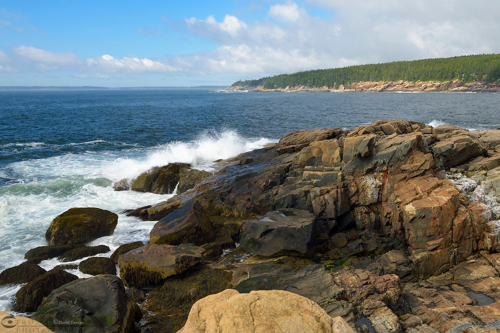 Rugged Maine Coast, Acadia National Park.
