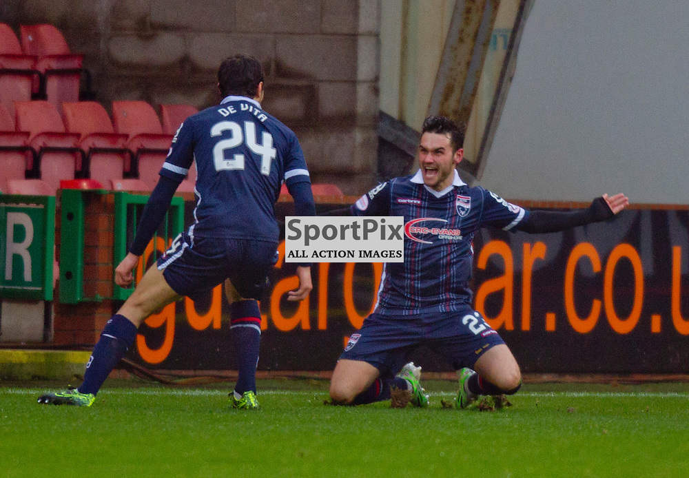Dunfermline Athletic v Ross County Scottish Cup Season 2015/16 East End Park 09 December 2015<br /> Alex Schalk celebrates his goal<br /> CRAIG BROWN | sportPix.org.uk