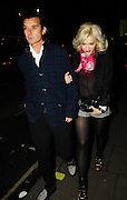 03.DECEMBER.2009 - LONDON<br /> <br /> GWEN STEFANI AND HUSBAND GAVIN ROSSDALE LEAVING THE BERKLEY BALL WHICH WAS HELD IN PORTMAN SQUARE, MAYFAIR.<br /> <br /> BYLINE: EDBIMAGEARCHIVE.COM<br /> <br /> *THIS IMAGE IS STRICTLY FOR UK NEWSPAPERS & MAGAZINES ONLY*<br /> *FOR WORLDWIDE SALES & WEB USE PLEASE CONTACT EDBIMAGEARCHIVE-0208 954 5968*
