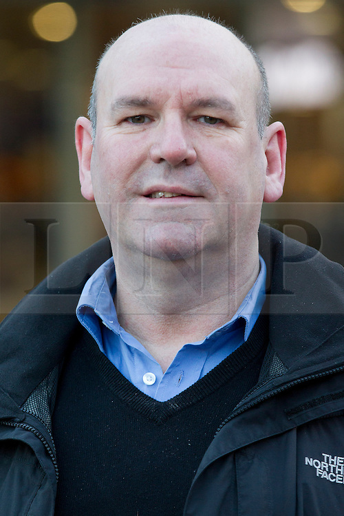 © Licensed to London News Pictures. 02/01/2014. London, UK. ASLEF Union General Secretary Mick Whelan is seen at a protest over today's (02/01/2014) 3.1% rail fare rise outside King's Cross Station in London this morning. The rail fare rise came in to force today as most across the country returned to work for the start of 2014. Photo credit: Matt Cetti-Roberts/LNP