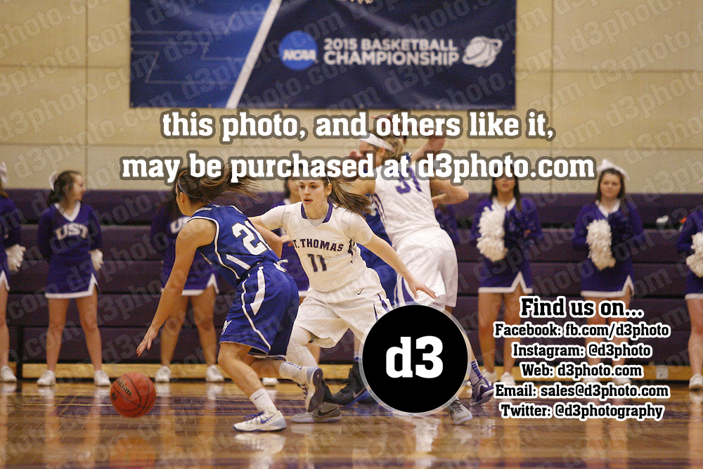 NCAA Division III Women's Basketball Championship Playoffs<br /> Second Round<br /> St. Thomas Pod<br /> St. Thomas (Minn.) vs. Luther