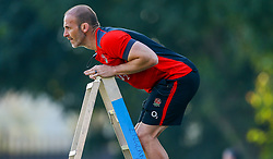 Paul Gustard (Defence Coach) of England - Mandatory by-line: Steve Haag/JMP - 13/06/2018 - RUGBY - Kings Park Stadium - Durban, South Africa - England Rugby Training and Press Conference, South Africa Tour