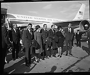 American Astronauts visit Dublin.<br />