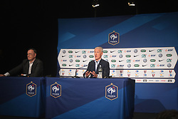May 17, 2018 - Paris, France - DIDIER DESCHAMPS (SELECTIONNEUR FRANCE) - Philippe Tournon  (Credit Image: © Panoramic via ZUMA Press)