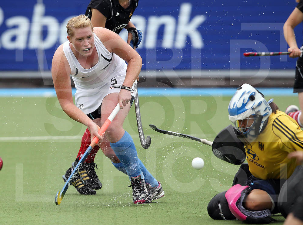 Womens Champions Trophy, Amsterdam 2011.25062011 Day1 New Zealand v Germany.Katie Glynn of New Zealand.Credit: Grant Treeby.Editorial use only(No Archiving)