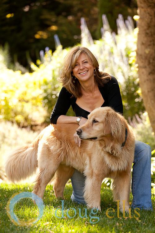 Outdoor portraits in Carmel, CA. Diane Danvers Simmons.