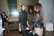 HEIDY DE LA RIOJA; RESEMARY PORT, Andrea Dibelius of the EMDASH Foundation hosts party to celebrate the Austrian Pavilion and artist Mathias Poledna at the Venice Biennale. Palazzo Barbaro, Venice. 30 May 2013<br /> <br /> <br /> Venice. Venice Bienalle. 28 May 2013