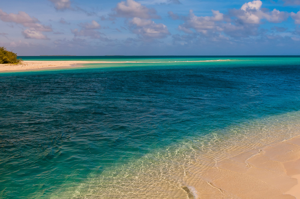 Tranquil scene of beach at Mouli, Island of Ouvea, Loyalty Islands, New Caledonia
