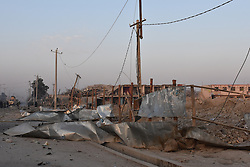 MAZAR-E-SHARIF, Nov. 11, 2016 (Xinhua) -- Photo taken on Nov. 11, 2016 shows the blast site of German consulate in Mazar-e-Sharif, Afghanistan. Four Afghans have been killed and 115 others injured as a vehicle bomb targeted the German consulate in Mazar-e-Sharif in the northern Balkh province, a local security official said Friday. (Xinhua/Yaqub Azorda).****Authorized by ytfs* (Credit Image: © Yaqub Azorda/Xinhua via ZUMA Wire)