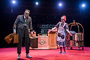 Award winning; Clowns the Chervotkins Duo (Elena and Alexander) guide the audience - Moscow State Circus returns to London with it's latest show GOSTINITSA in a centrally heated theatre style Big Top on Hampstead Heath. They will be there from Wed 27th Sept to Sun 1st Oct.