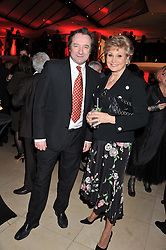 NEIL PEARSON and ANGELA RIPPON at the Costa Book Awards 2012 held at Quaglino's, 16 Bury Street, London SW1 on 29th January 2013.
