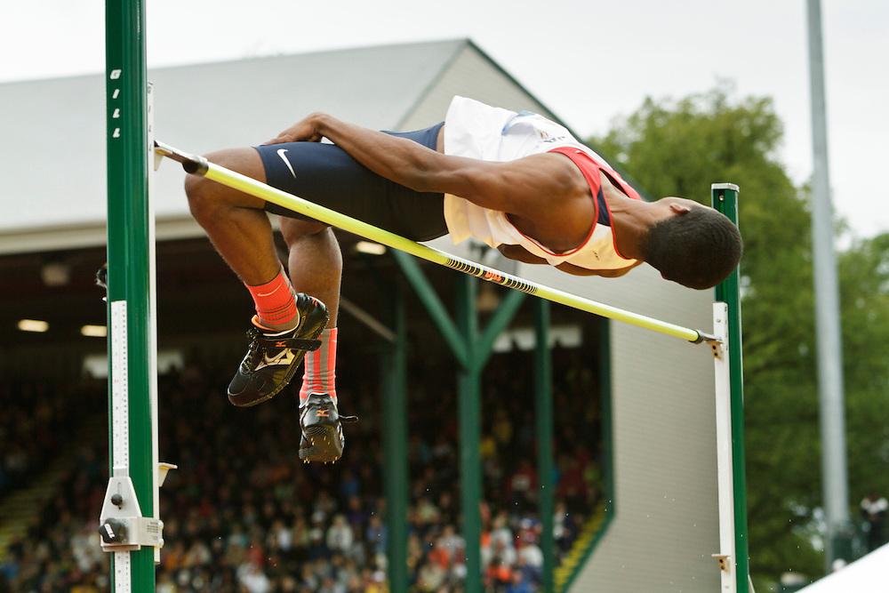 men's high jump, Nick Ross
