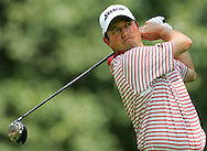 South African golfer Tim Clark, watches a shot during the first round of the 2005 PGA Championship at Baltusrol Golf Club in Springfield, New Jersey, Thursday 11 August 2005.