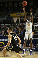 February 23, 2018 - Johnson City, Tennessee - Freedom Hall: ETSU guard Bo Hodges (3)<br /> <br /> Image Credit: Dakota Hamilton/ETSU