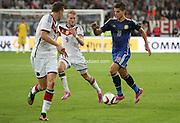 Dusseldorf, Alemania. 03 de septiembre de 2014. Espirit Stadium. Partido amistoso entre la Seleccion Alemana de futbol y la Seleccion Argentina de futbol.