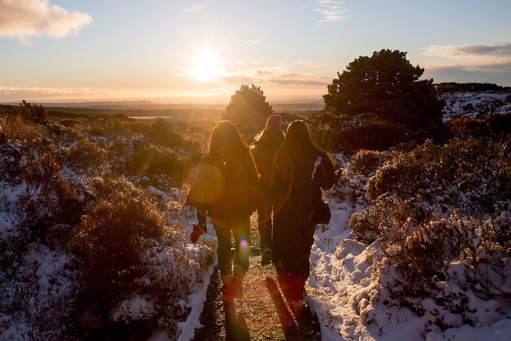 g adventures classic highlights of new zealand winter tour 2015 coromandel cathedral cove photos tamaki maori village taranaki falls walk in the snow