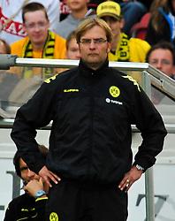 29.08.2010, Mercedes-Benz Arena, Stuttgart, GER, 1. FBL, VfB Stuttgart vs Borussia Dortmund, im Bild Juergen Klopp (Trainer Dortmund), EXPA Pictures © 2010, PhotoCredit: EXPA/ nph/  Roth+++++ ATTENTION - OUT OF GER +++++ / SPORTIDA PHOTO AGENCY