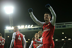 31st December 2017 - Premier League - West Bromwich Albion v Arsenal - Granit Xhaka of Arsenal celebrates his side's opening goal - Photo: Simon Stacpoole / Offside.