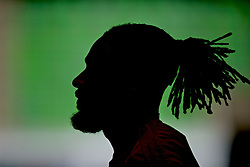 BUDAPEST, HUNGARY - Monday, June 10, 2019: Wales' captain Ashley Williams during a training session ahead of the UEFA Euro 2020 Qualifying Group E match between Hungary and Wales at the Ferencváros Stadion. (Pic by David Rawcliffe/Propaganda)